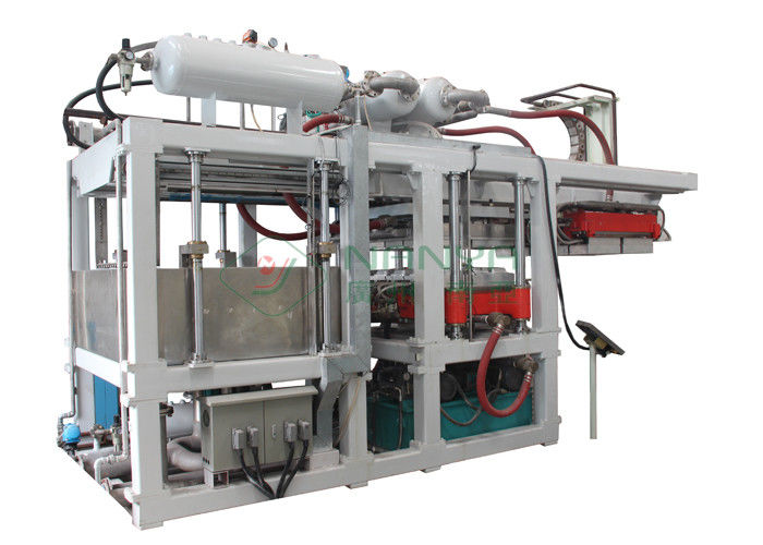Virgin Paper Tableare Pulp Molding Equipment , Disposable Paper Plates Making Machine