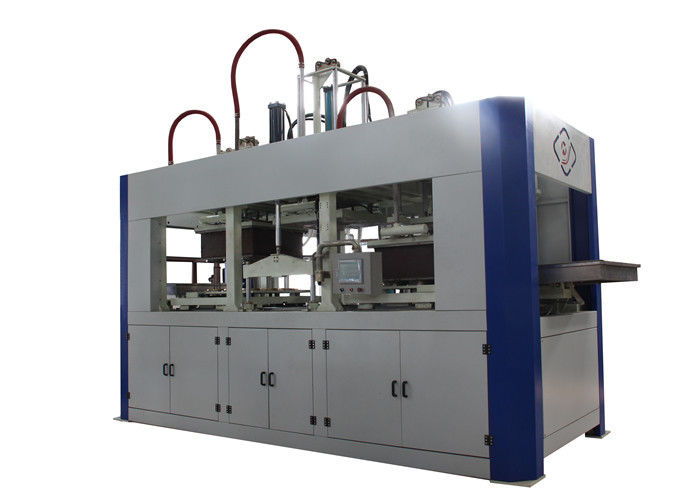 Biodegradable Fully Automatic Pulp Molding Equipment , PLC + Touch Screen Control