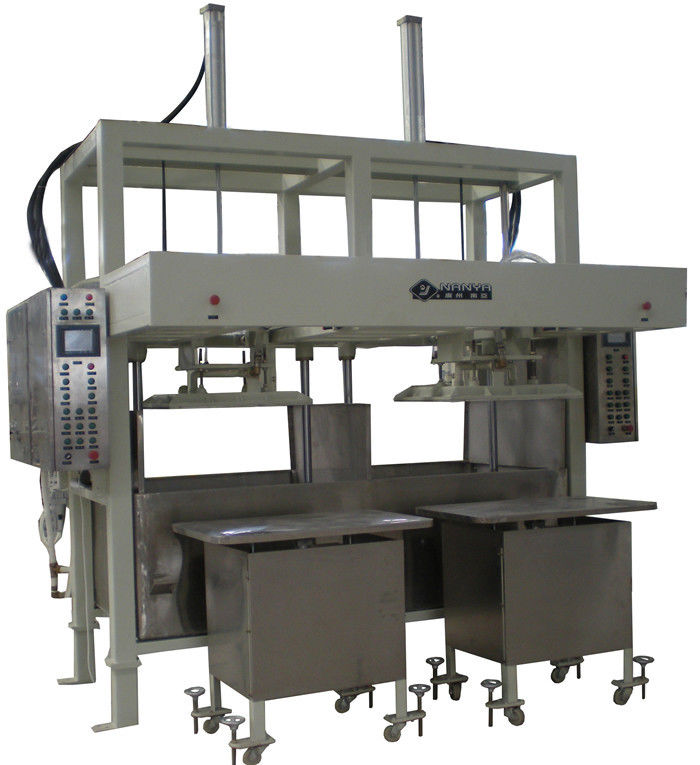 Thermoforming Paper Pulp Moulding Machine Drying in Mould , 30kg-300kg / h